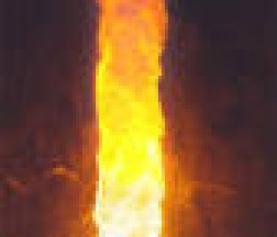 Shiva manifesté en tant que lingam de feu